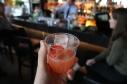 Strwberry Gin Fizz