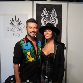 Marcos Mendoza and his wife, founders of Mala Idea