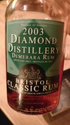 Diamond Distillery Demerara Rum 2003