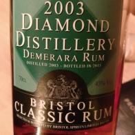 Diamond Distillery Demerara Rum 2003